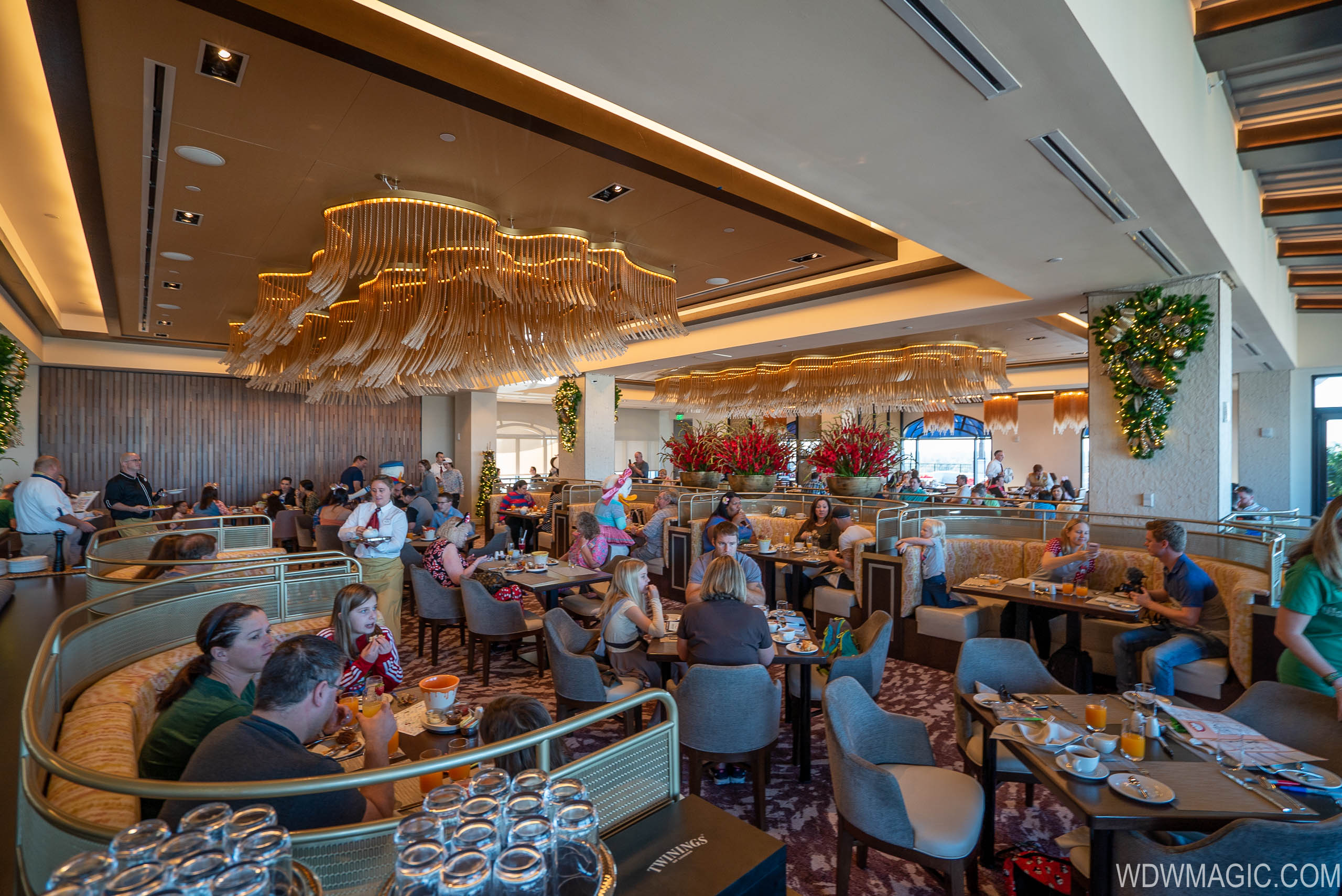 A modified Character Dining experience will be available at Topolino's Terrace in the Riviera Resort