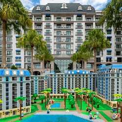 1 Year Anniversary LEGO Model of Disneys Riviera Resort