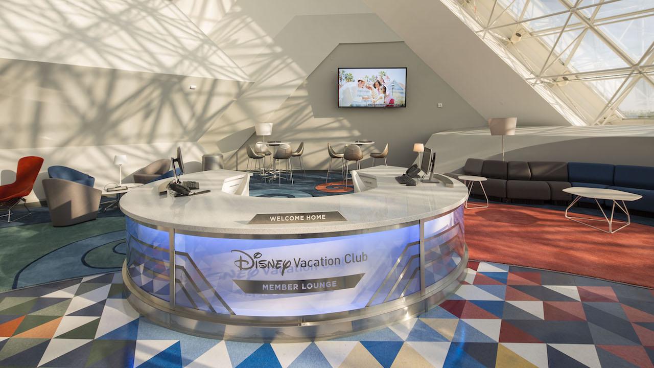 Epcot Disney Vacation Club Lounge