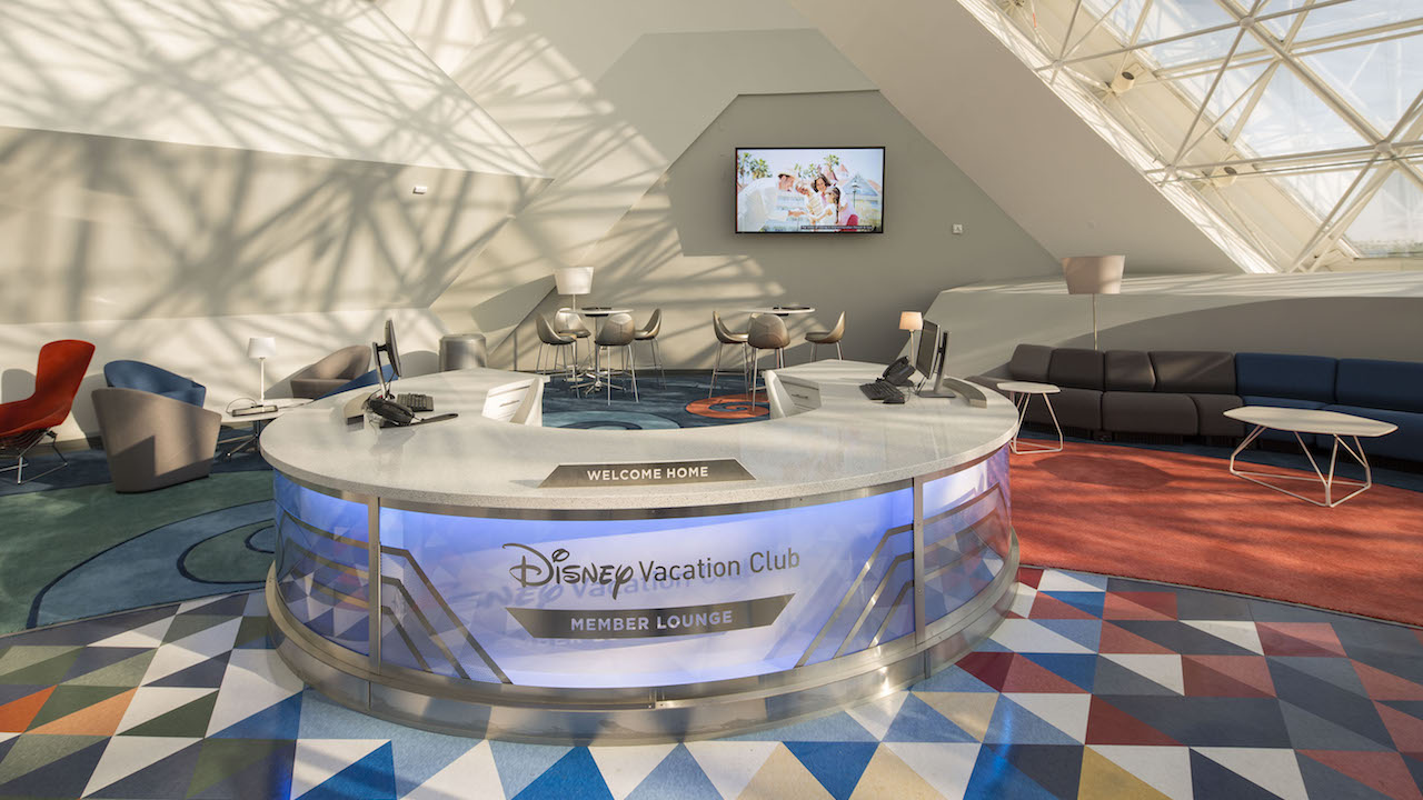 Epcot Disney Vacation Club Lounge