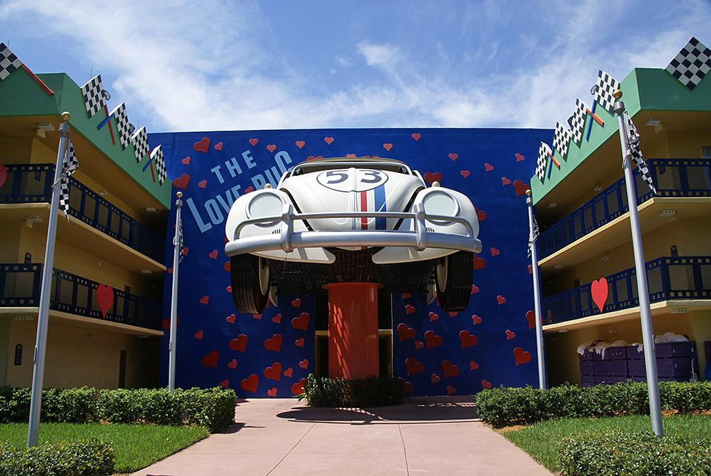 Herbie The Love Bug buildings