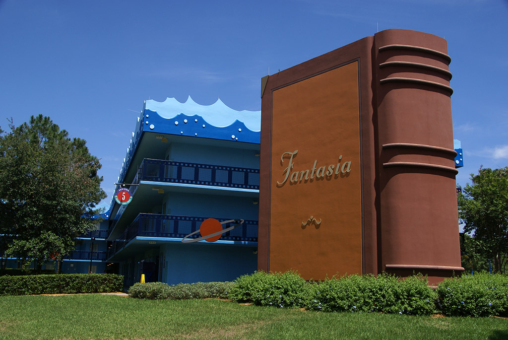 Fantasia buildings