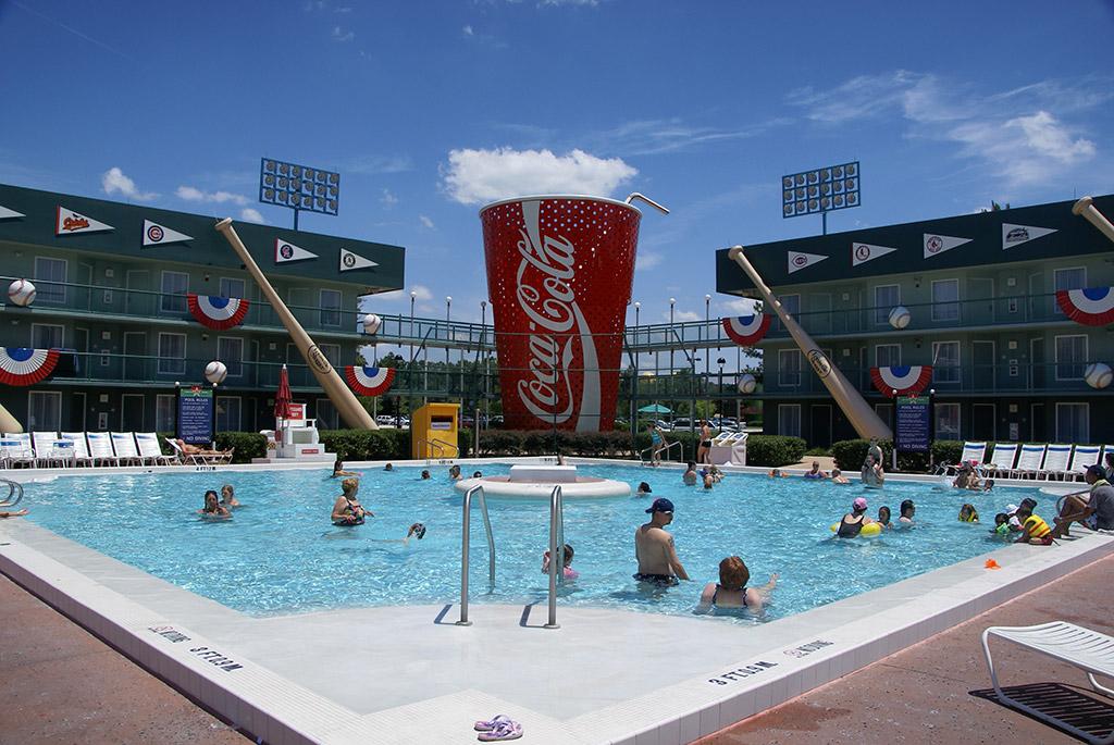 All Star Sports Resort pools