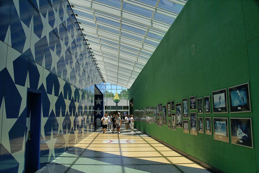 All Star Sports Resort - Stadium Hall lobby and food court
