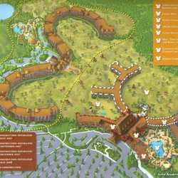 Disney Animal Kingdom Villas pre-opening map