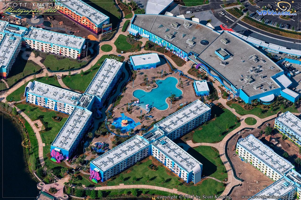 Photos Aerial Views Of Disney S Art Of Animation Resort
