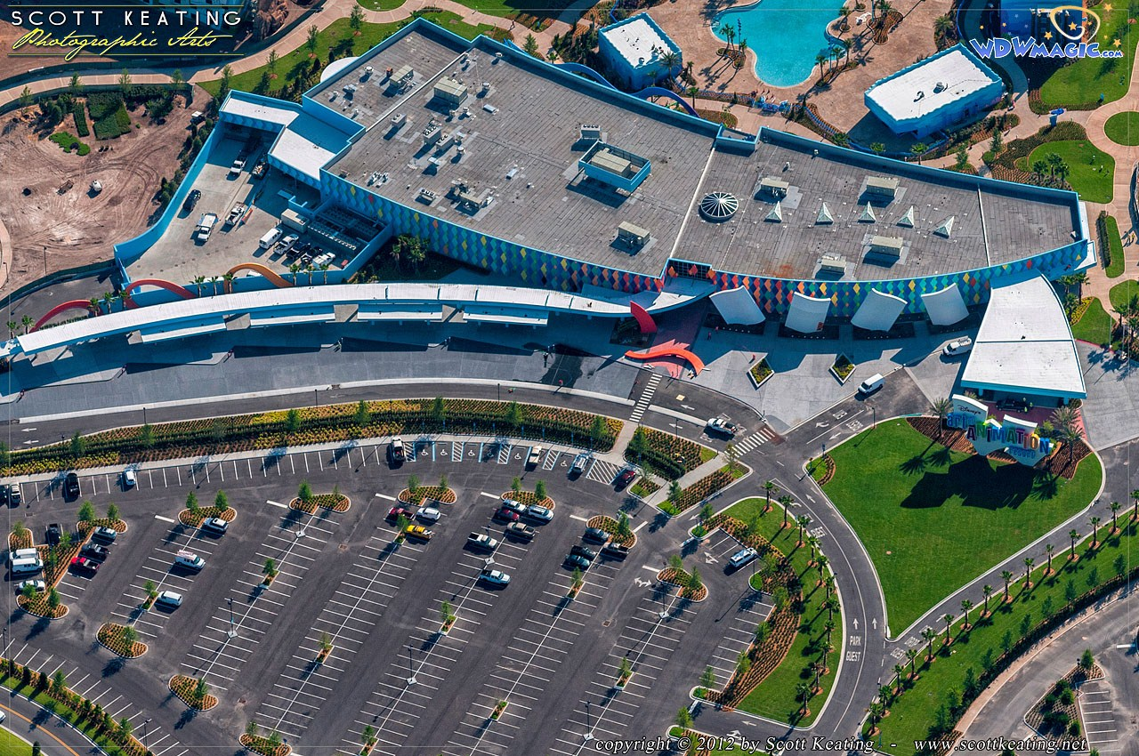 Art of Animation Resort Aerial view