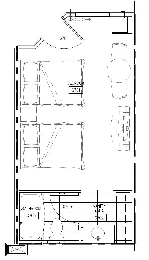 Disney\'s Art of Animation Resort room floor plans - Photo 1 of 2