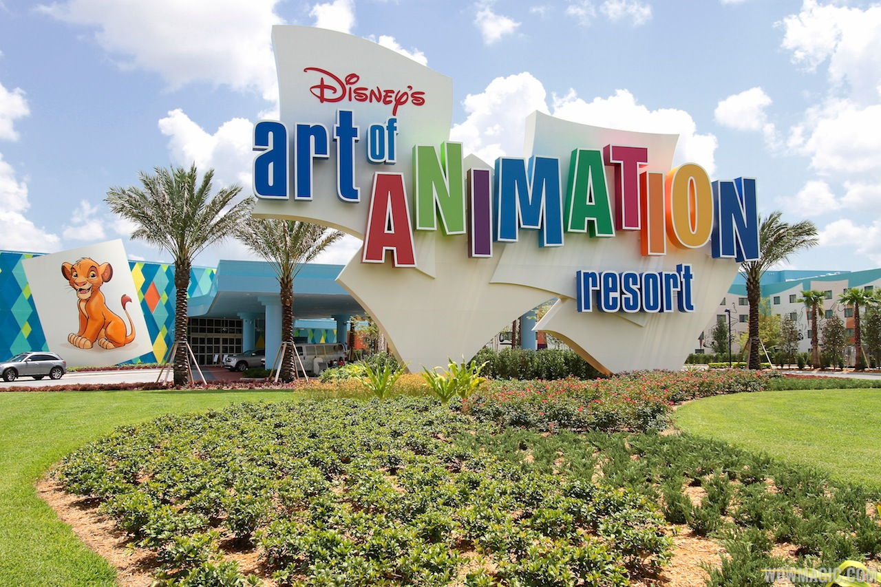 Disney's Art of Animation resort will be one of four to allow dogs