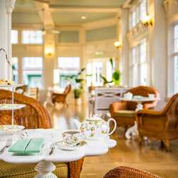 Afternoon Tea at Crescent Solarium