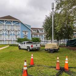5G Cell Towers at Disney's Yacht and Beach Club