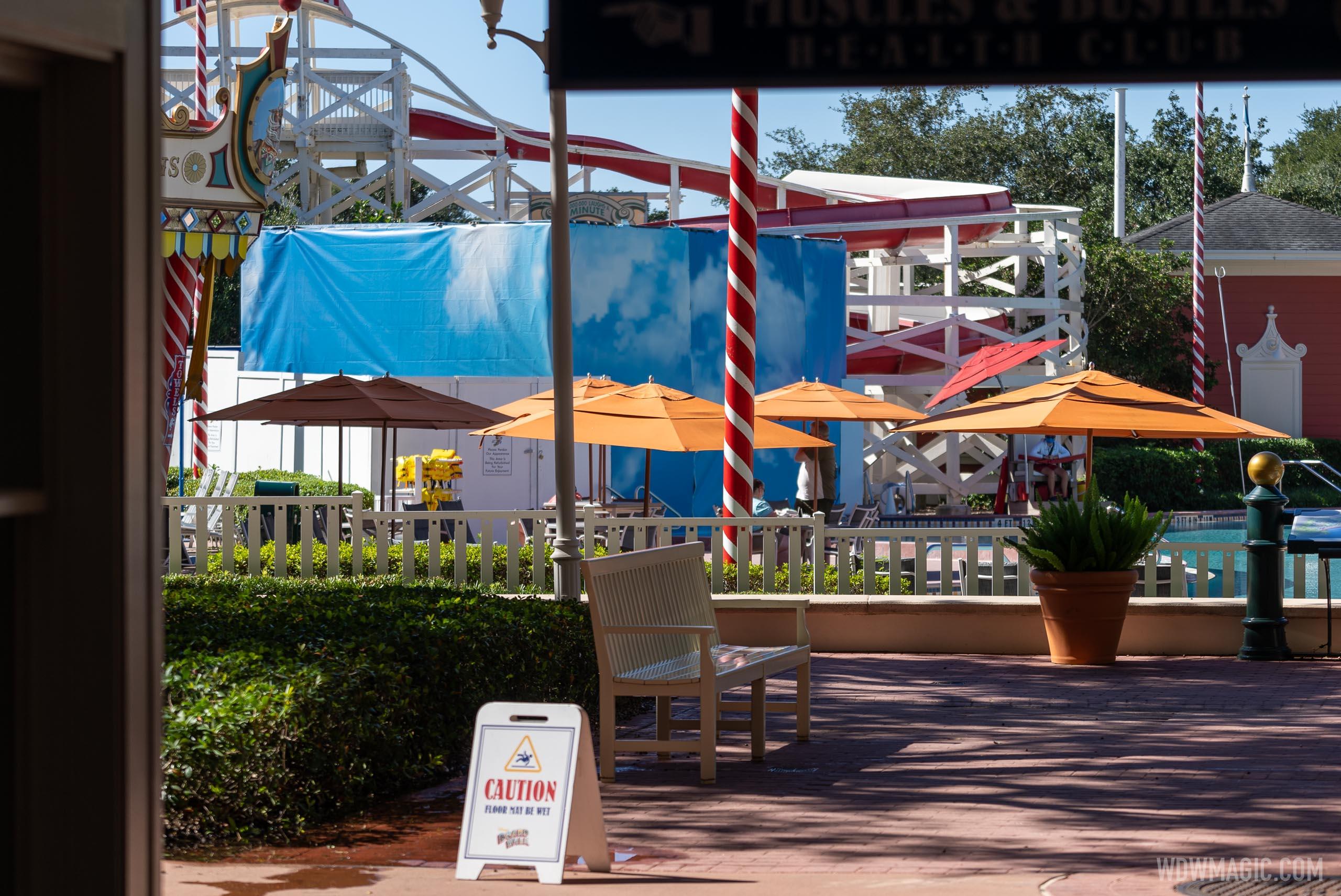 New look Luna Park water slide sneak peek