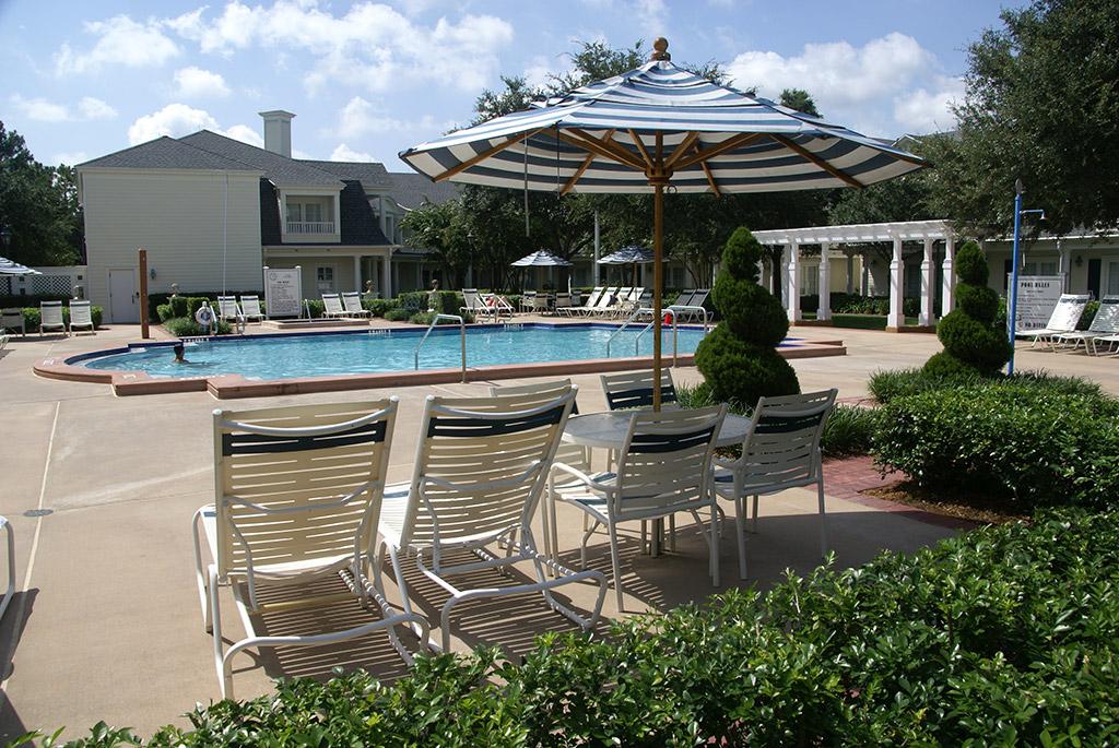 BoardWalk Inn quiet pool