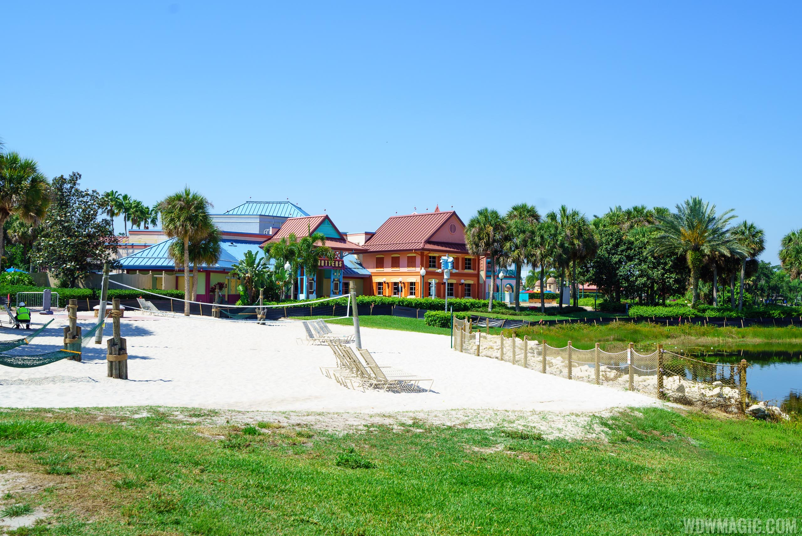 Old Port Royale closed and temporary dining at Disney's Caribbean Beach Resort