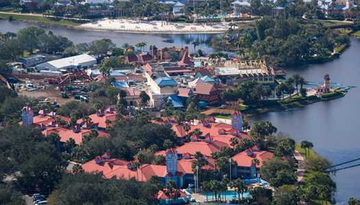 PHOTOS - Latest aerial views of the Caribbean Beach Resort Old Port Royale expansion