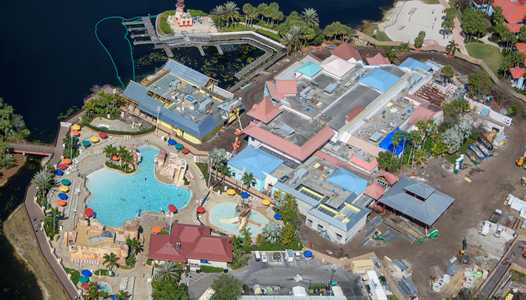 PHOTOS - Latest look at the changes coming to Disney's Caribbean Beach Resort