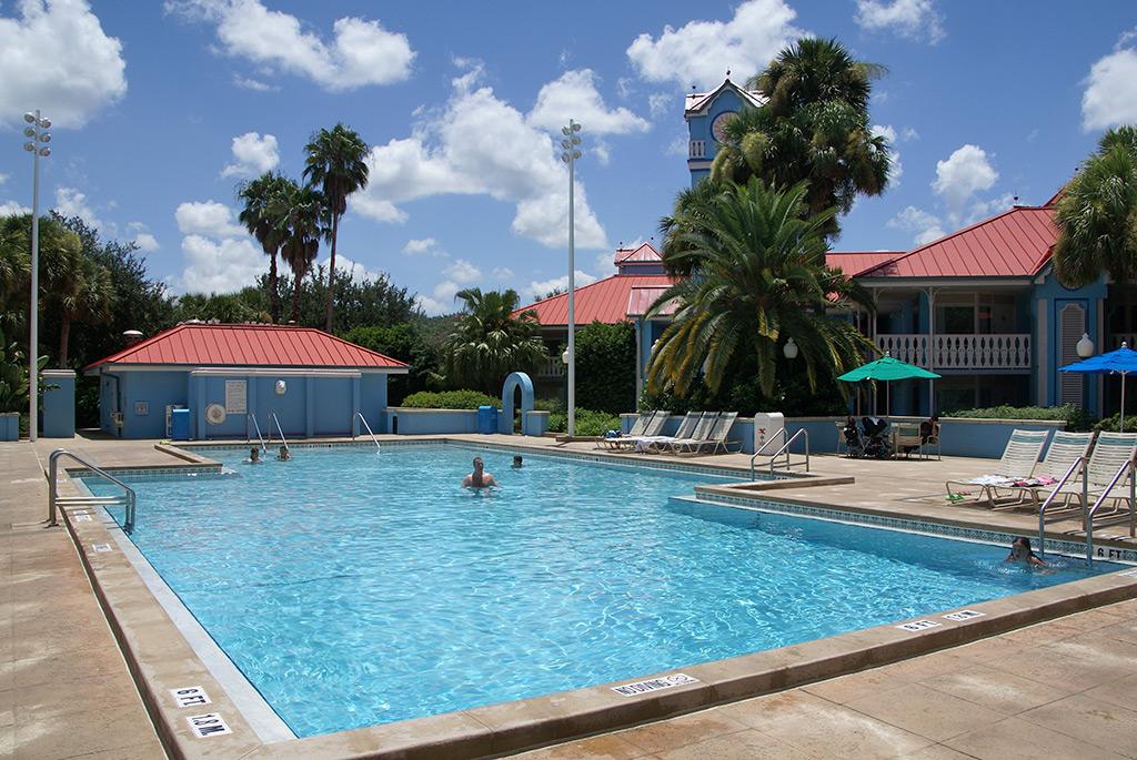 Martinique quiet pool