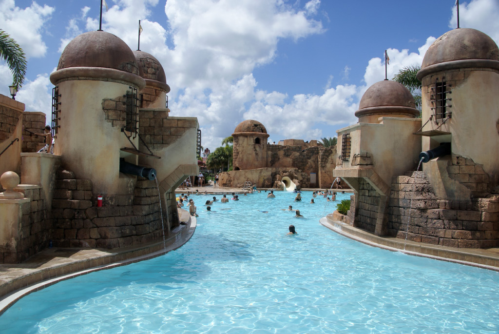 Old Port Royale feature pool