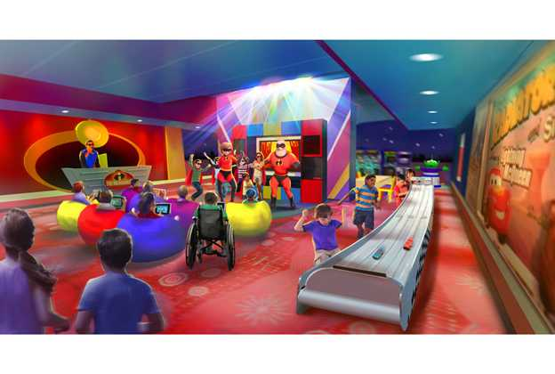 Pixar Play Zone concept art