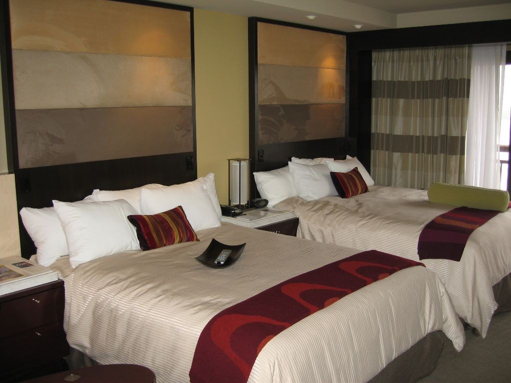 New look Contemporary Resort rooms