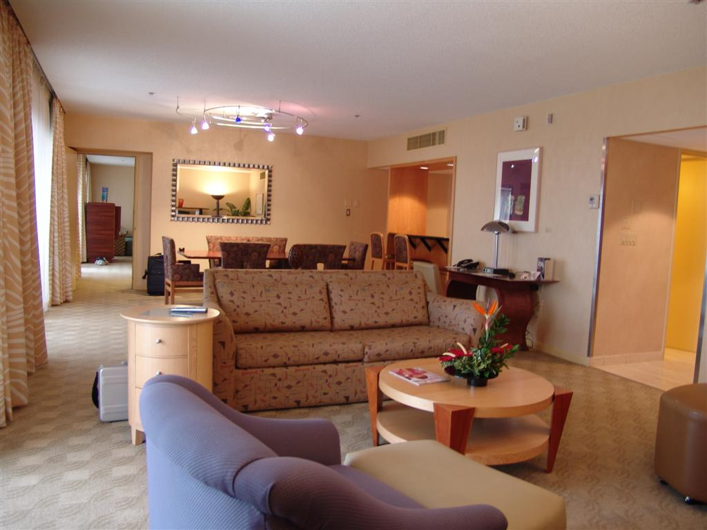 A look inside the Contemporary Resort presidential suite