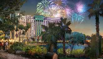 VIDEO - Take a fly-through tour of the upcoming Coronado Springs Resort tower