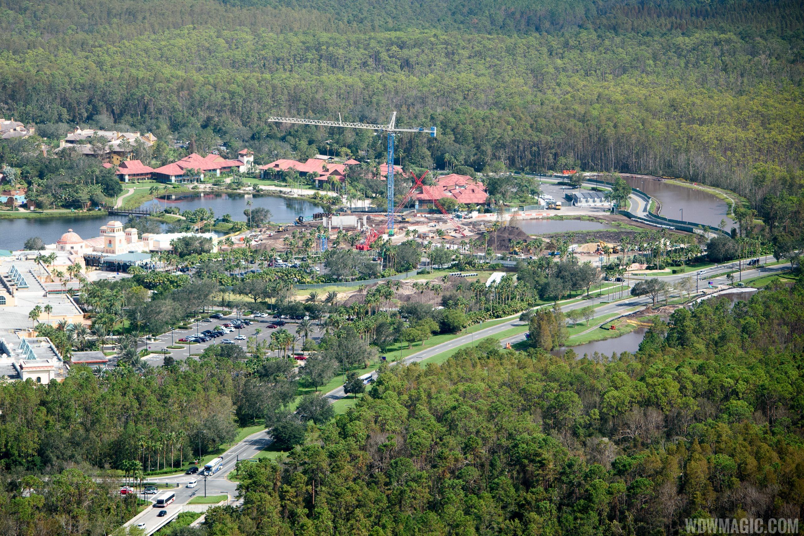 Coronado Springs Resort Tower construction