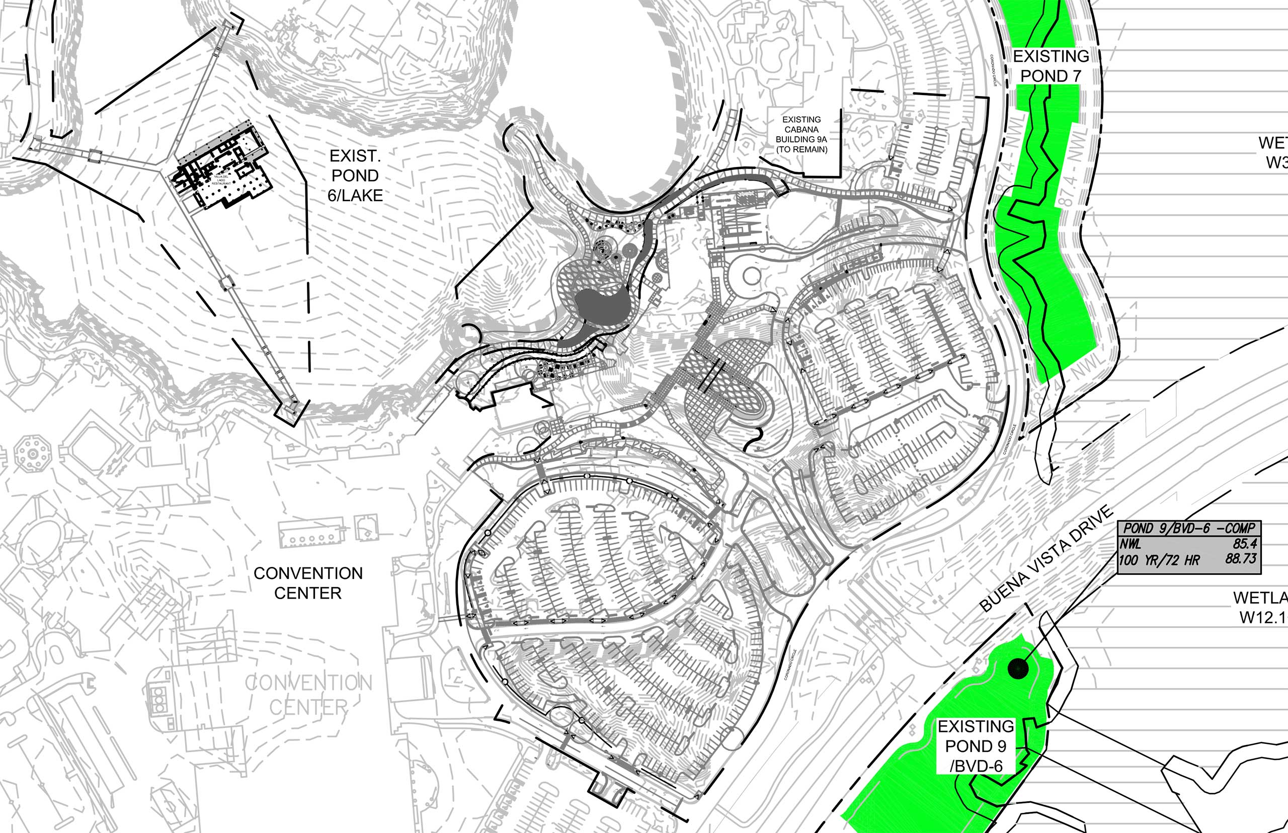 Plans for the Coronado Springs Resort Tower construction