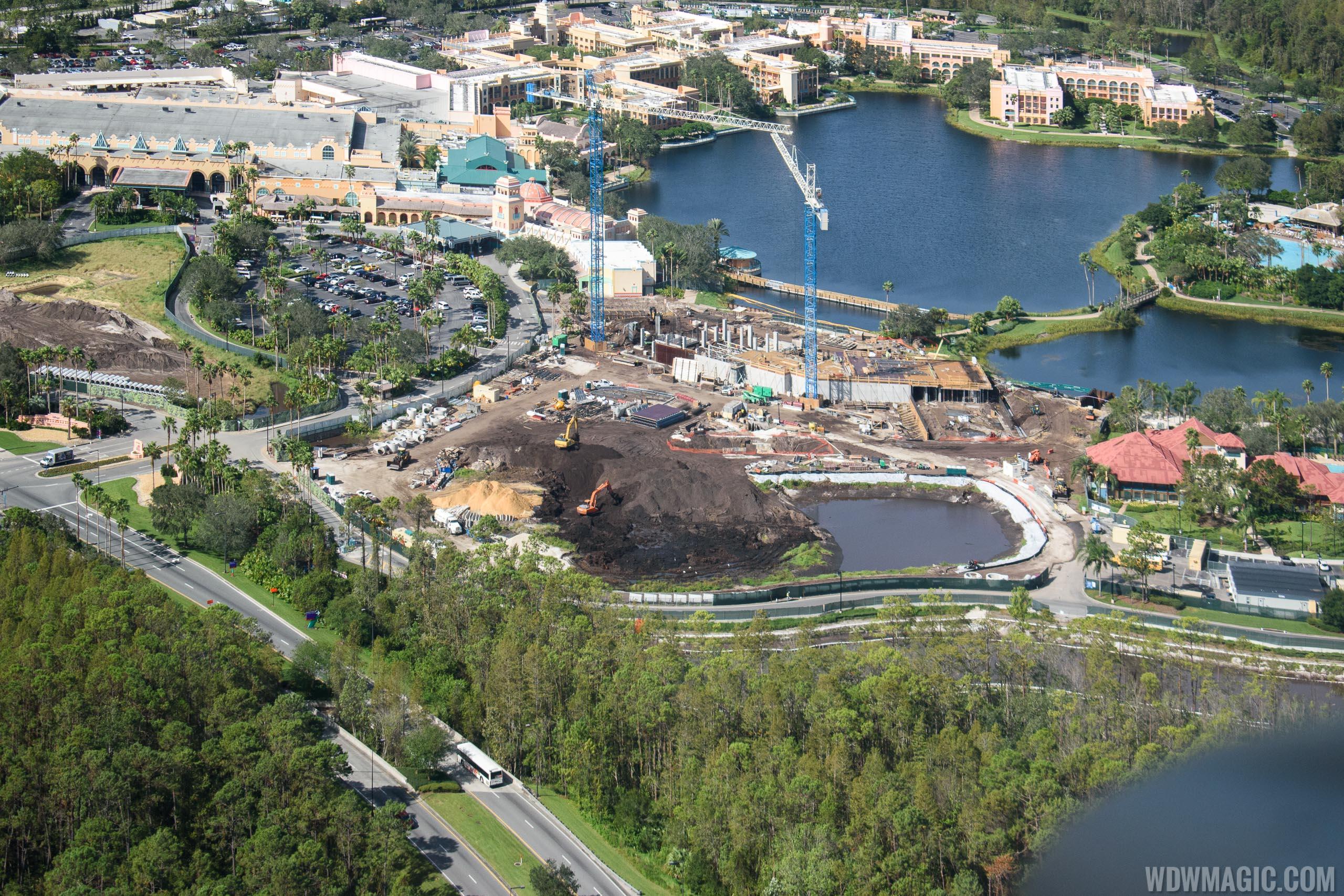 Photos Coronado Springs Resort Tower Construction