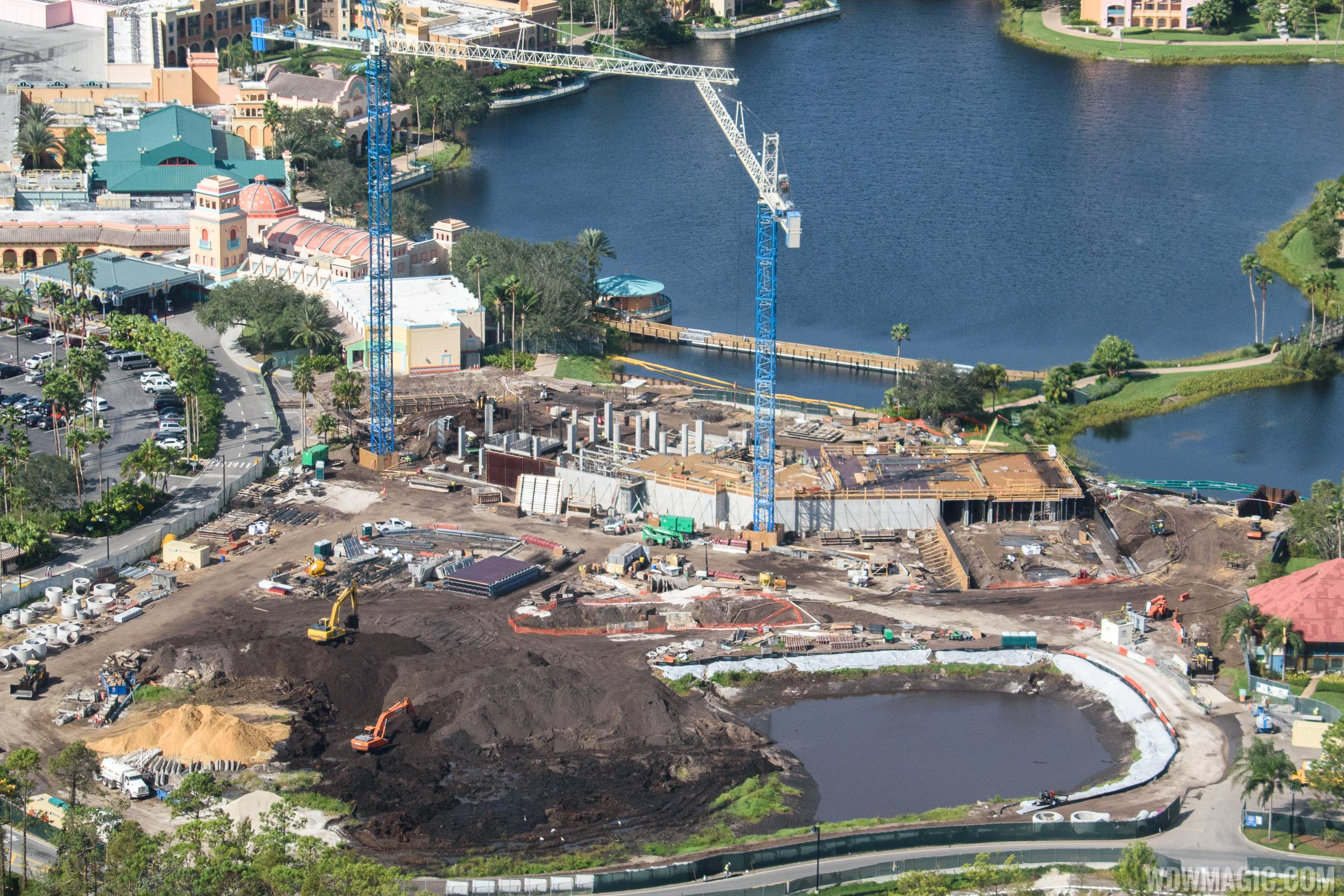 Coronado Springs Resort Tower construction