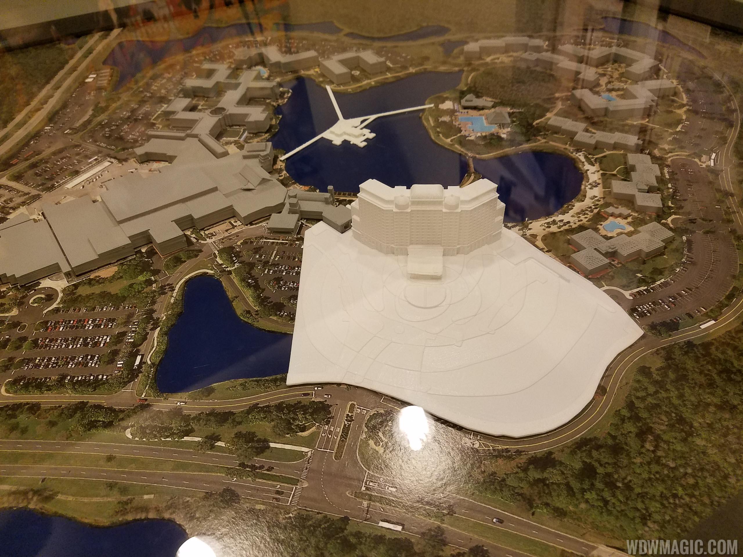 PHOTOS - Disney's Coronado Springs Resort expansion preview center