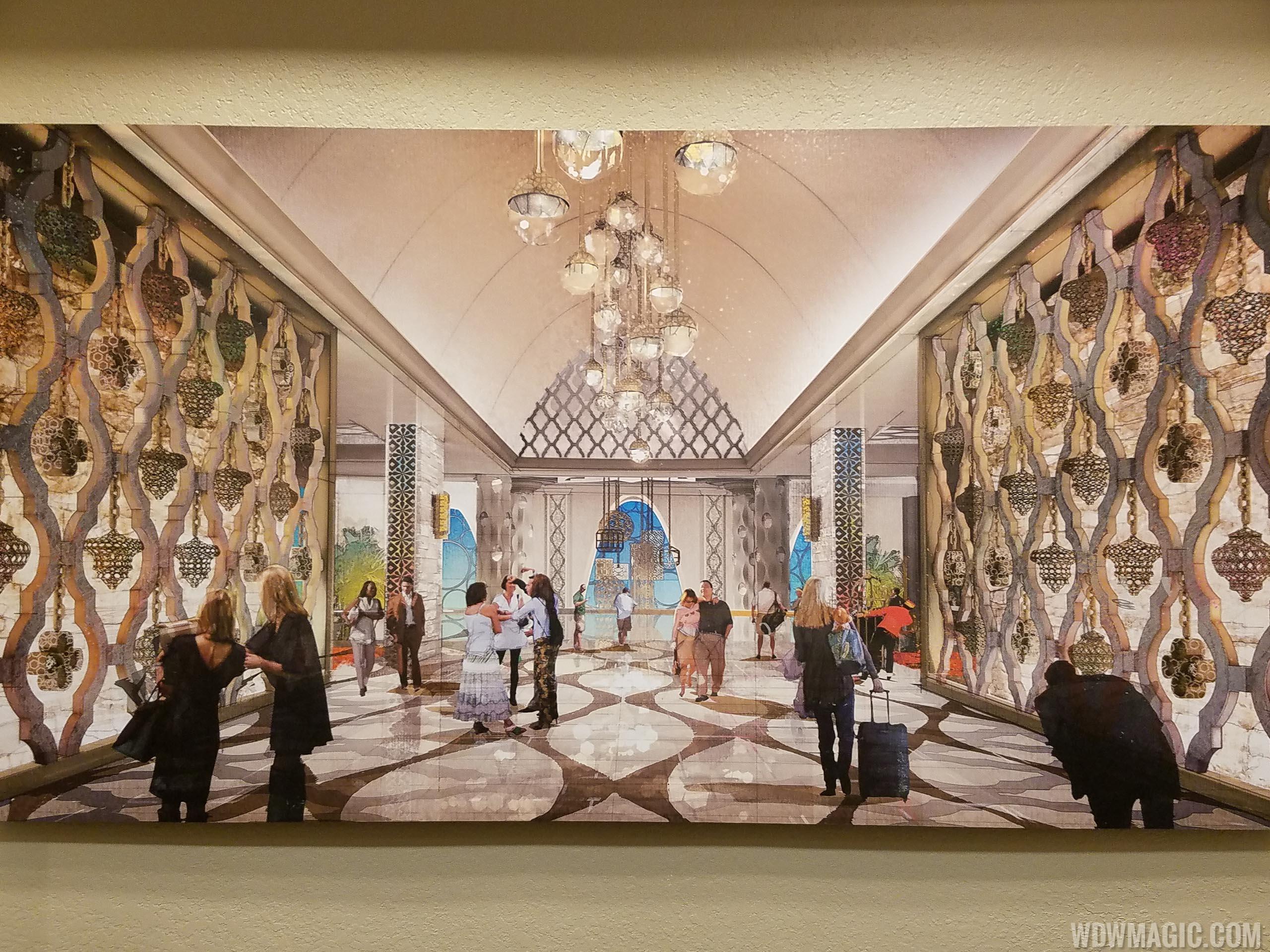 Coronado Springs Tower lobby