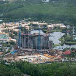 Coronado Springs Resort Tower construction - May 2018