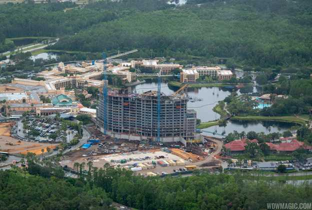 Coronado Springs Resort Tower construction - May 2018