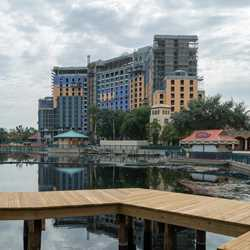 Coronado Springs Resort Tower construction - July 2018