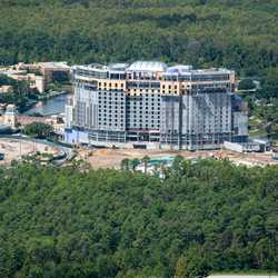 Coronado Springs Resort Tower construction - September 2018