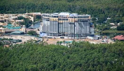 Disney's Coronado Springs Resort tower named Gran Destino Tower
