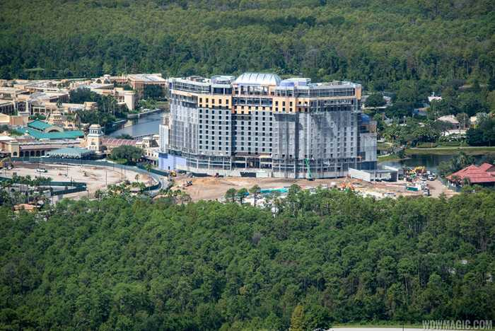 Coronado Springs Resort Tower construction - September 2018