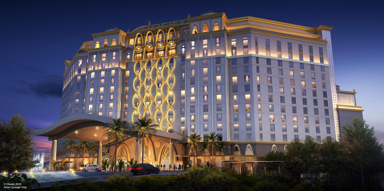 Coronado Springs Resort tower concept art