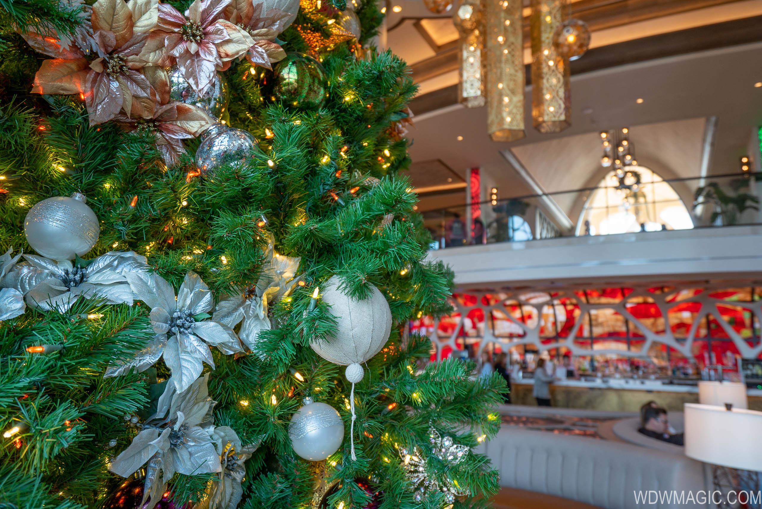 Gran Destino Tower Christmas Holiday decor 2019