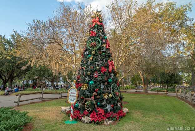 Fort Wilderness Resort Christmas Tree 2018