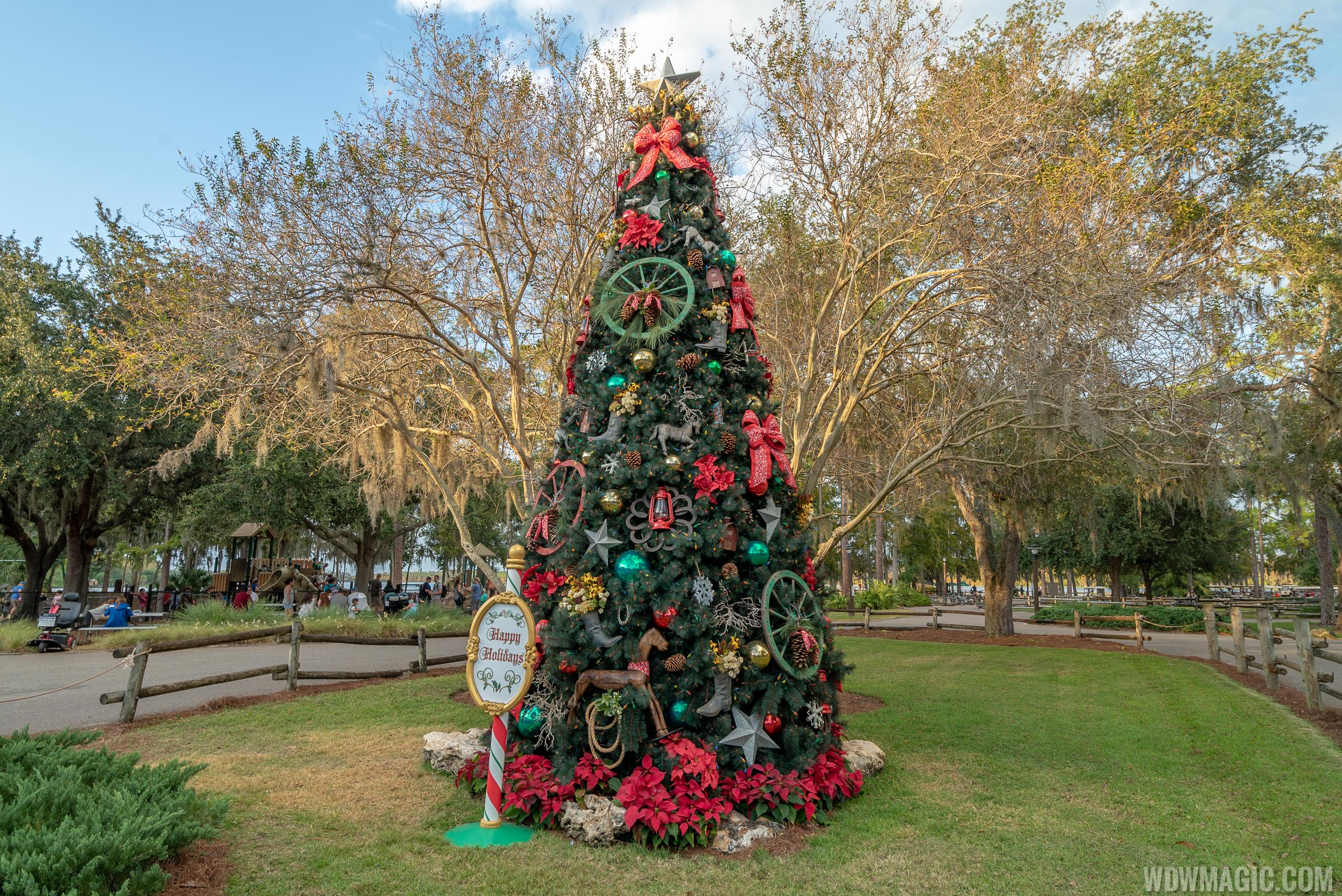 Fort Wilderness Resort Christmas Tree 2018