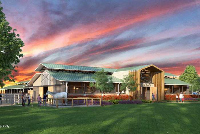 New Tri-Circle-D Ranch concept art