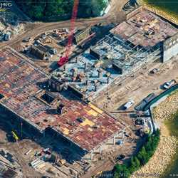 Disney's Grand Floridian DVC construction from the air