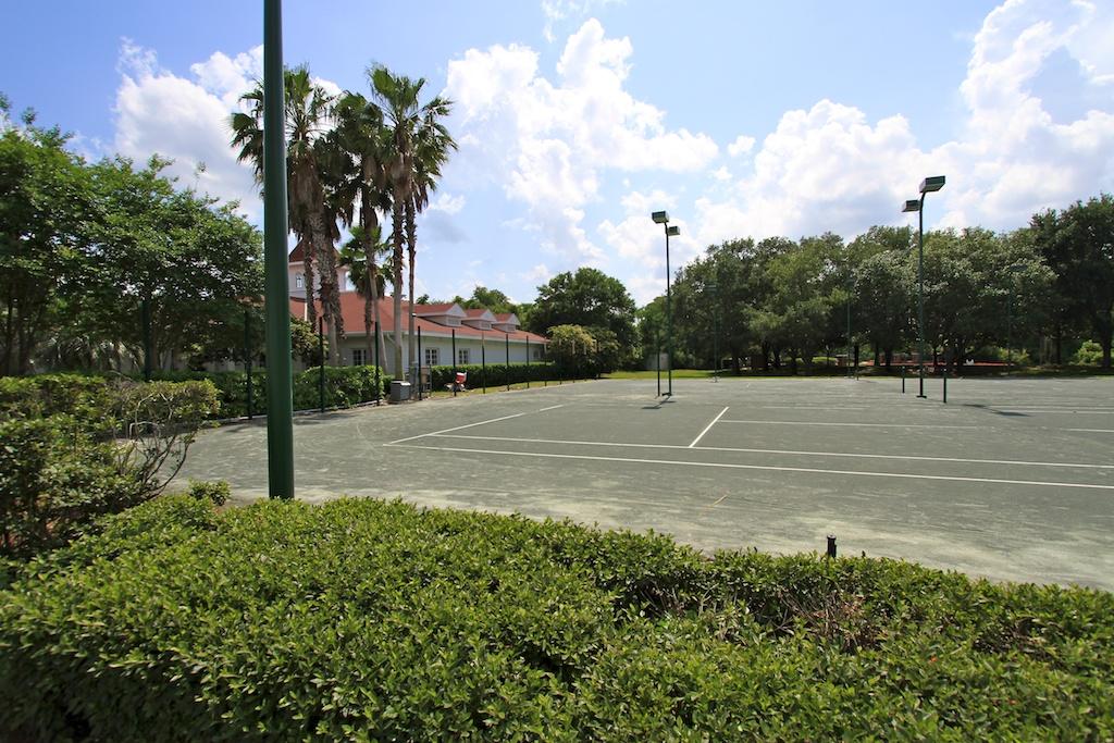Grand Floridian tennis courts refurbishment