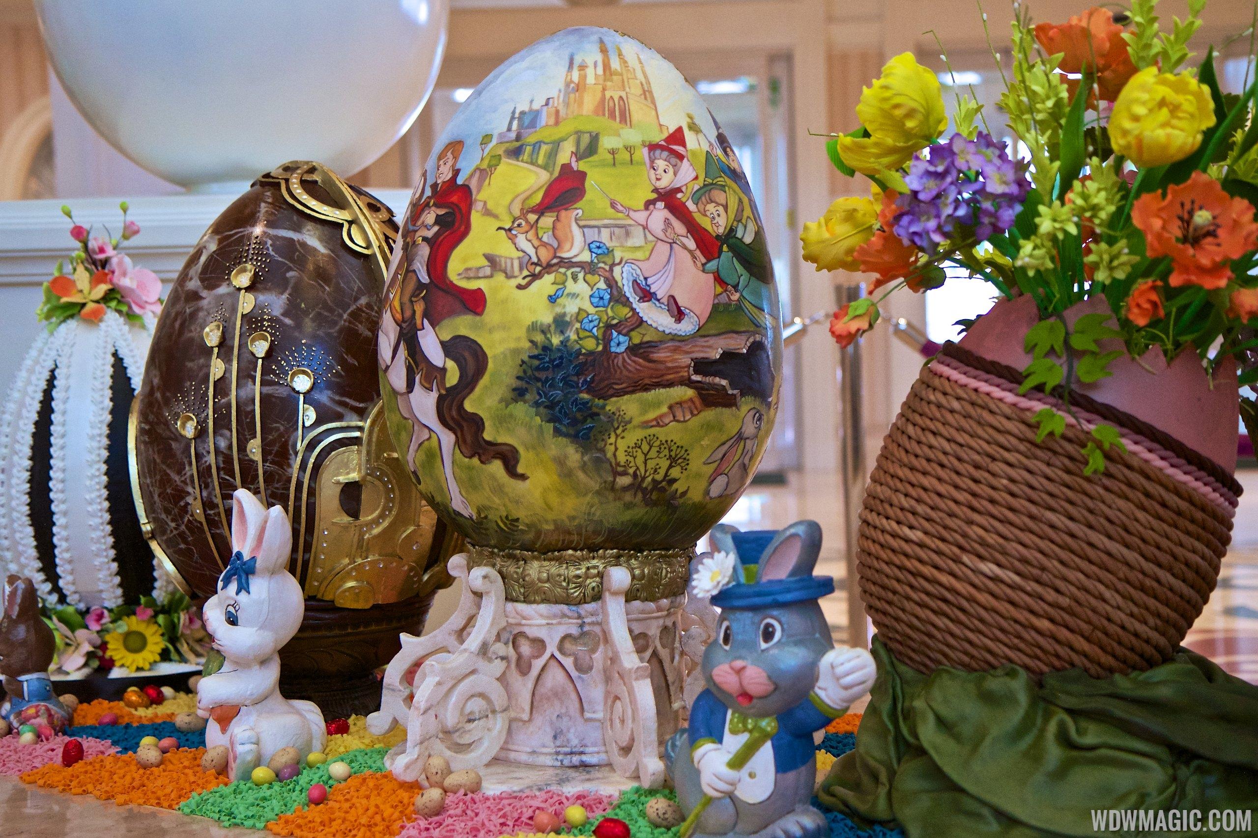 2014 Grand Floridian Resort Easter Eggs