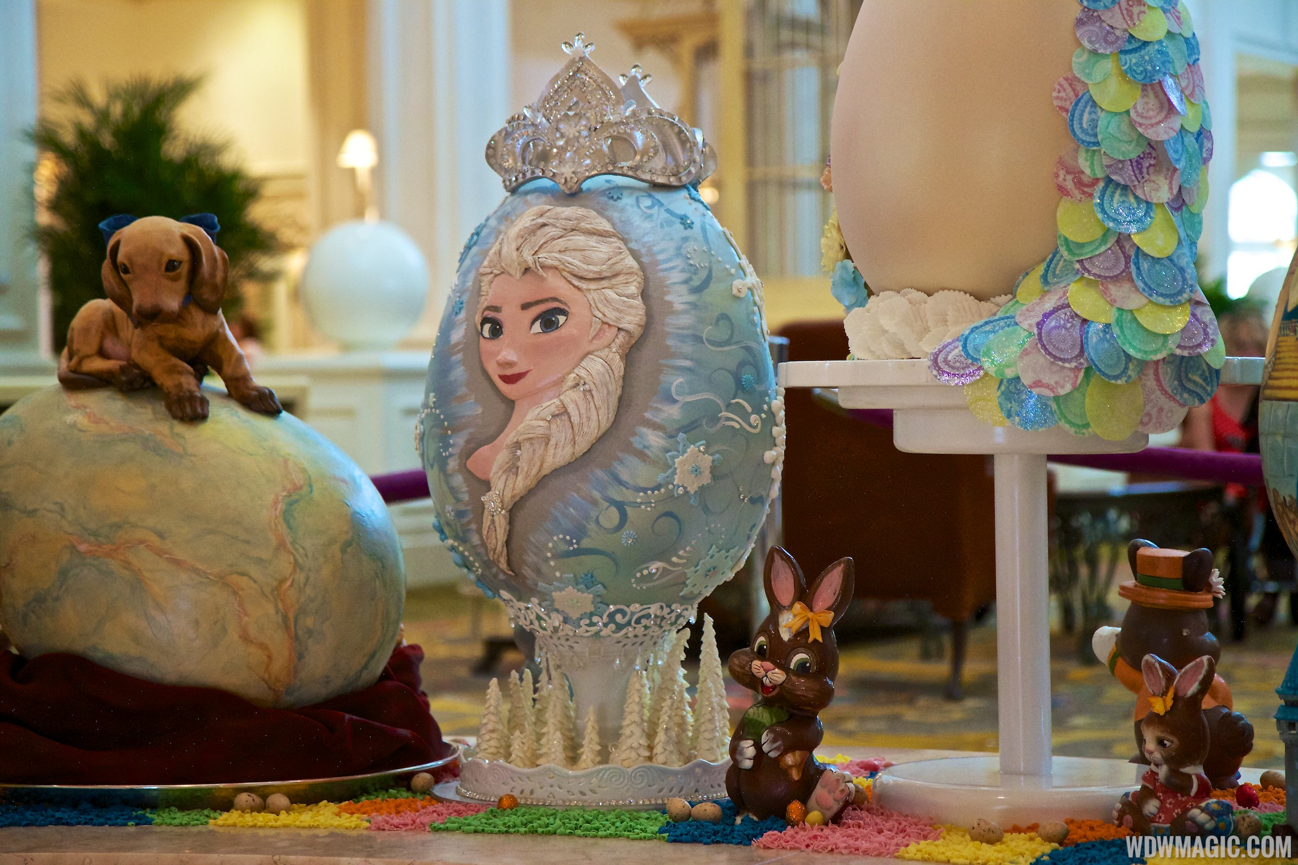 Frozen Easter Egg at the Grand Floridian Resort