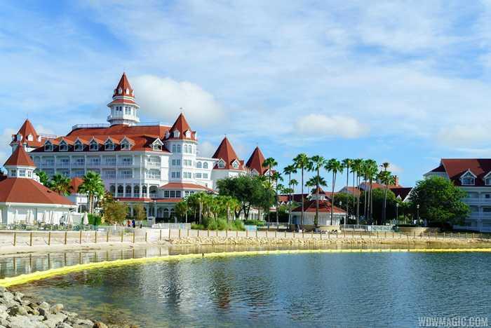 Grand Floridan Resort beach sea wall construction