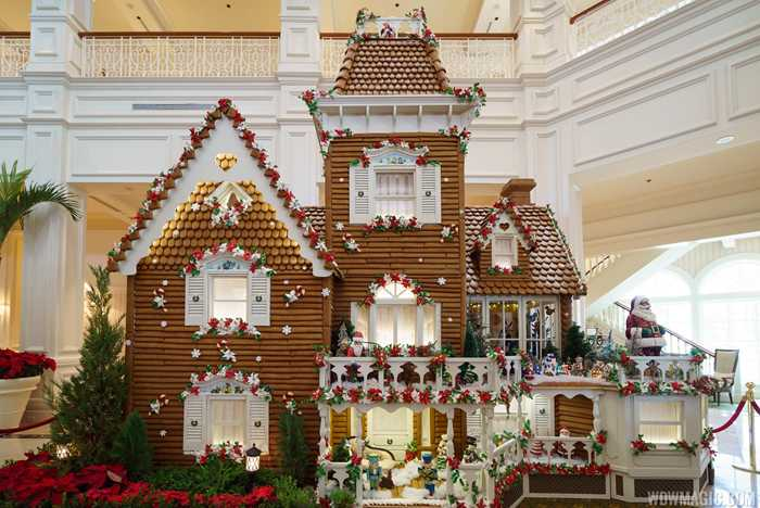 2016 Grand Floridian Gingerbread House