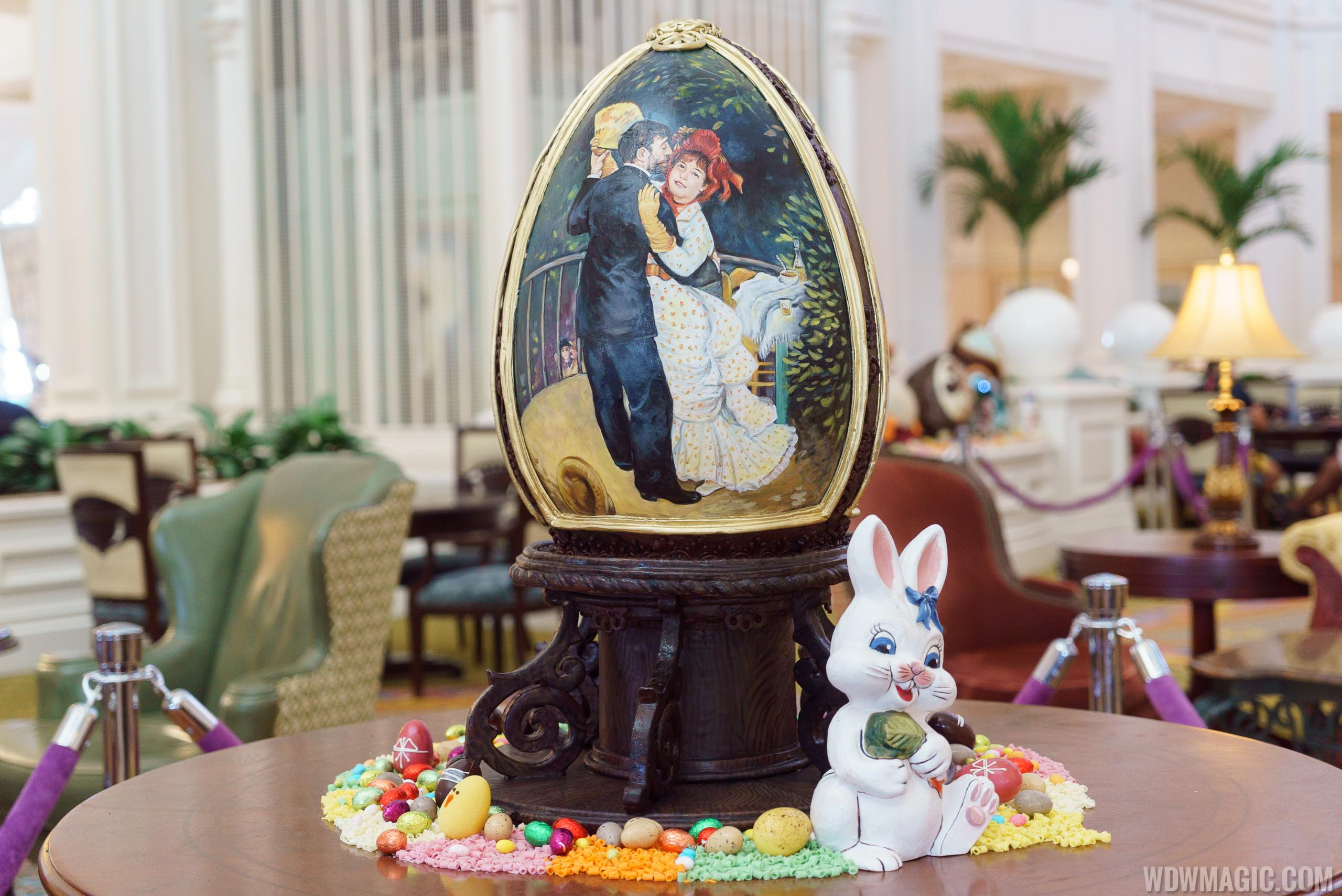 2017 Grand Floridian Resort Easter Eggs